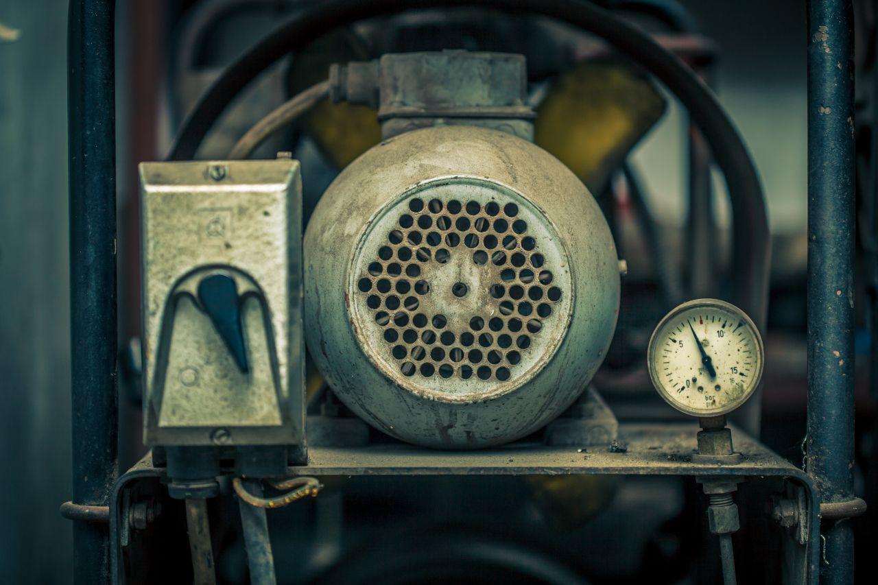 Alter Luftkompressor