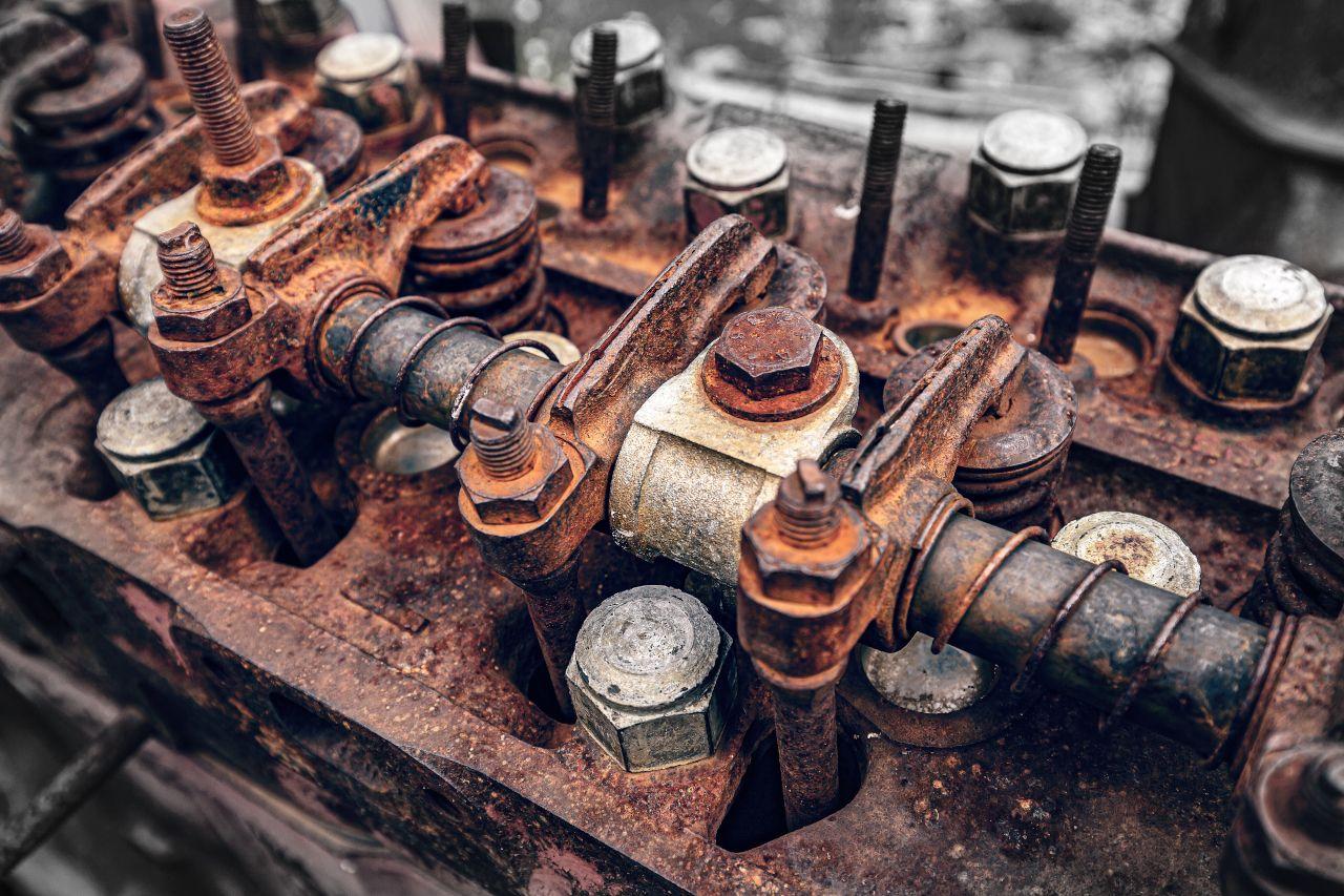 Motor einer Landmaschine